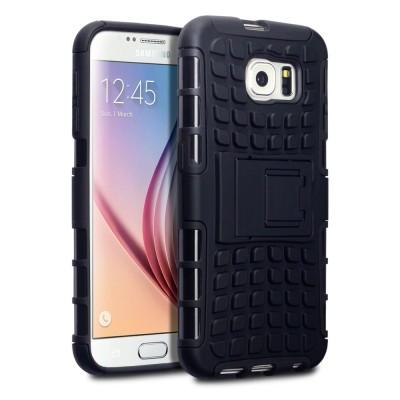 Ανθεκτική Θήκη Samsung Galaxy S6 μαύρη -OEM (200-101-399)