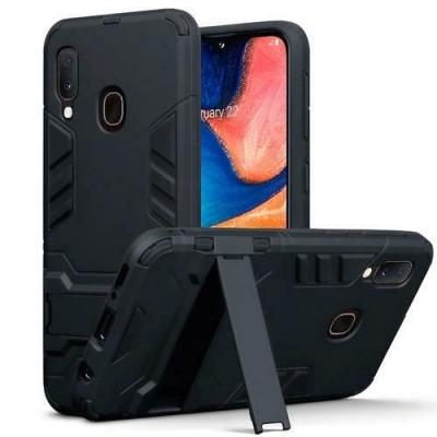 Terrapin Ανθεκτική Dual Layer Θήκη Samsung Galaxy A20e - Black (131-002-182)