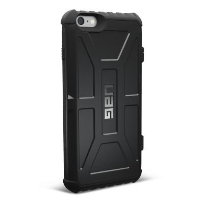 UAG Trooper Θήκη με Θέση για Κάρτες iPhone 8 / 7 / 6s - Black (IPH7/6s-T-BK)
