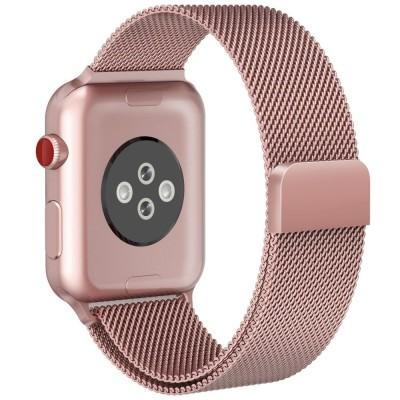 Μεταλλικό Λουράκι για Apple Watch 3/2/1 42mm Rose Gold by Tech Protect  (200-102-846)
