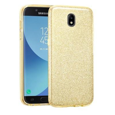 Shining Glitter Case για Samsung Galaxy J7 2017 Gold - OEM (200-103-926)