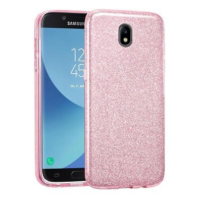 Shining Glitter Case για Samsung Galaxy J7 2017 Pink - OEM (200-103-927)