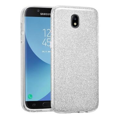 Shining Glitter Case για Samsung Galaxy J7 2017 Silver - OEM (200-103-928)