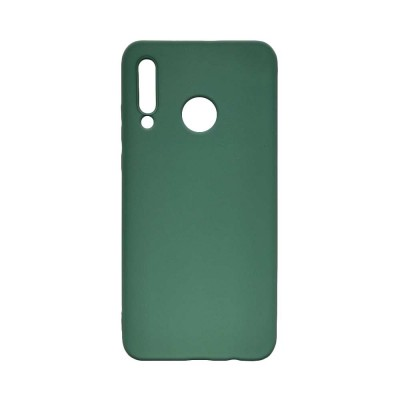 My colors Silicone Case για Huawei P40 Lite E Dark Green (200-108-131)