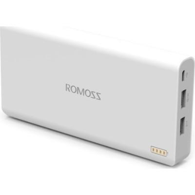 Φορητή Μπαταρία Φόρτισης (Power Bank) -16000 mAh by Romoss - SOLO 6 (ROMSOLO 6)