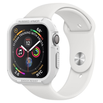 Spigen Apple Watch 5 / 4 40mm Rugged Armor White (061CS24482)
