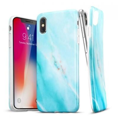ESR iPhone X/Xs Soft Marble Larimar   (200-103-473)