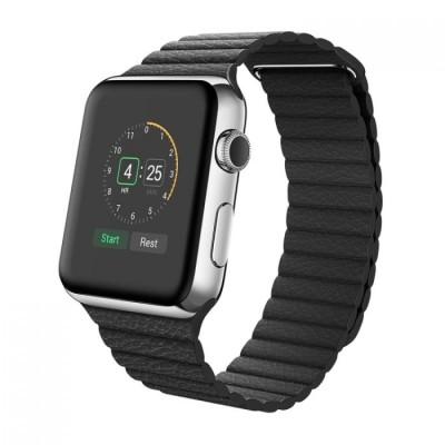 PU Loop Magnetic Black για Apple Watch 42mm