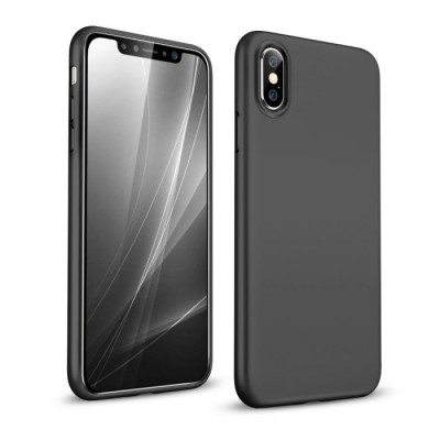 ESR iPhone X/Xs Slim Fit Matte Case Black   (200-103-475)