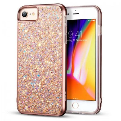 ESR Luxury Glitter Metallic Peach Case iPhone 6/6s (200-103-513)