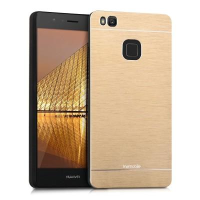 Θήκη αλουμινίου σε χρυσό χρώμα για Huawei P9 Lite by KW (200-101-902)