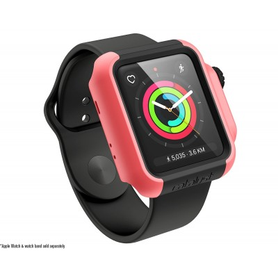 Catalyst Θήκη Impact Protection για Apple Watch 42mm Series 3/2 - Coral (CAT42DROP3COR)
