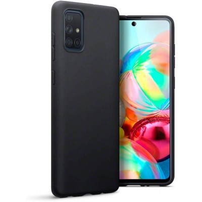 Terrapin Θήκη Σιλικόνης Samsung Galaxy A71 - Black Matte (118-002-807)
