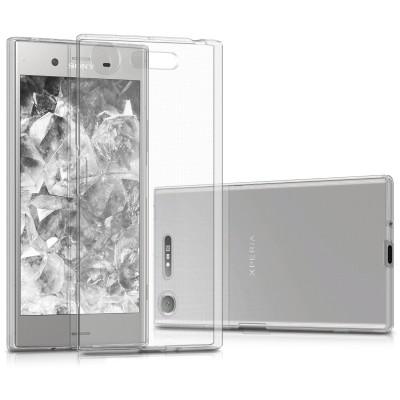 Θήκη σιλικόνης διάφανη για Sony Xperia XZ1 by KW (200-102-442)