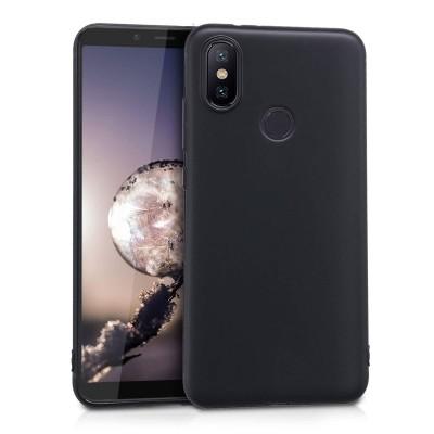 Θήκη σιλικόνης μαύρη για Xiaomi Mi 6X / Mi A2 by KW (200-103-057)