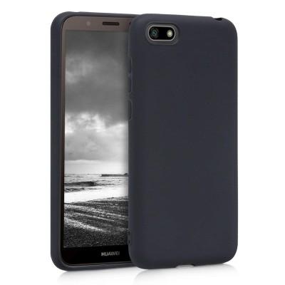 Θήκη σιλικόνης μαύρη για Huawei Y5(2018) by KW (200-103-316)
