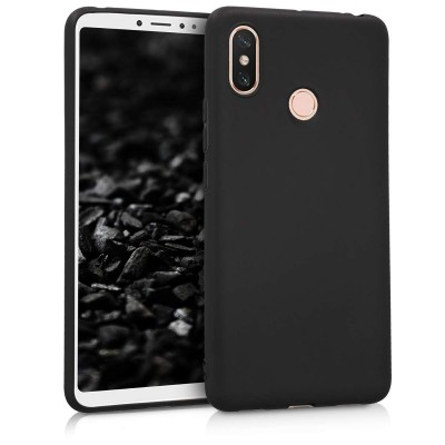 Θήκη σιλικόνης μαύρη για Xiaomi Mi Max 3  by KW (200-103-426)