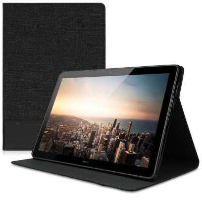 Θήκη-smart cover με stand για Huawei MediaPad T5 10 ανθρακί-μαύρη by KW (200-103-295)