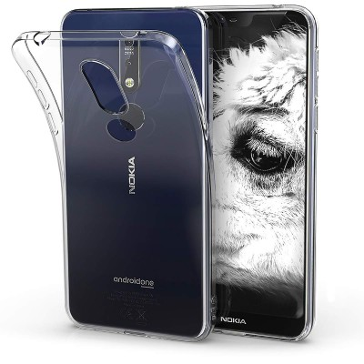 KW Διάφανη Θήκη Σιλικόνης Nokia 7.1 (200-103-719)