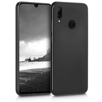 KW Θήκη Σιλικόνης Huawei P Smart 2019 - Black Matte (200-103-690)