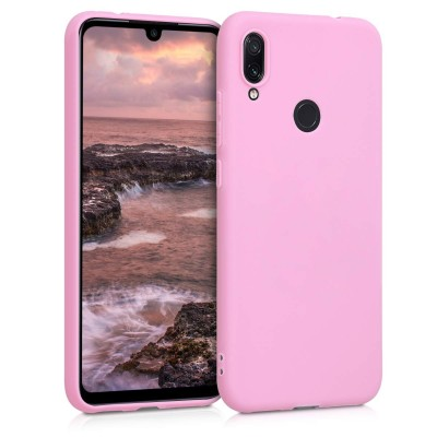Θήκη σιλικόνης για Xiaomi Redmi Note 7 / Note 7 Pro- Pastel Light Purple by KW (200-104-235)