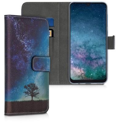 KW Θήκη - Πορτοφόλι Samsung Galaxy A50 - Blue / Grey / Black (200-103-782)