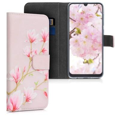 KW Θήκη Πορτοφόλι Samsung Galaxy A50 - Light Pink/White/Dusty Pink (200-104-478)