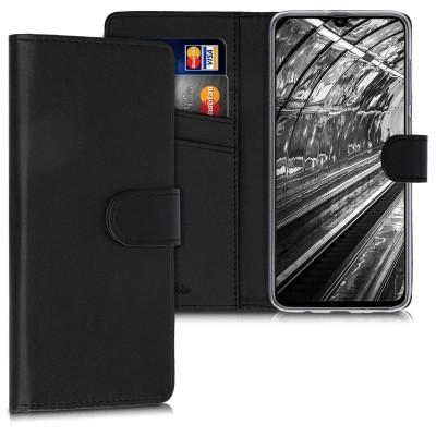 KW Θήκη Πορτοφόλι Samsung Galaxy A70 - Black (200-103-980)