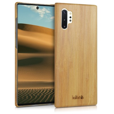 Kalibri Ξύλινη Θήκη Samsung Galaxy Note 10 Plus - Natural Hard Wooden Protective Cover (200-104-383)