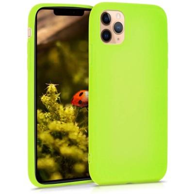 KW Θήκη Σιλικόνης iPhone 11 Pro - Neon Yellow (200-104-398)