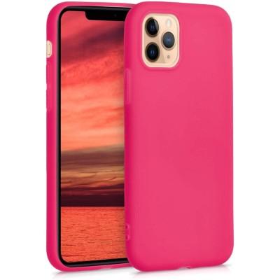 KW Θήκη Σιλικόνης iPhone 11 Pro - Neon Pink (200-104-397)