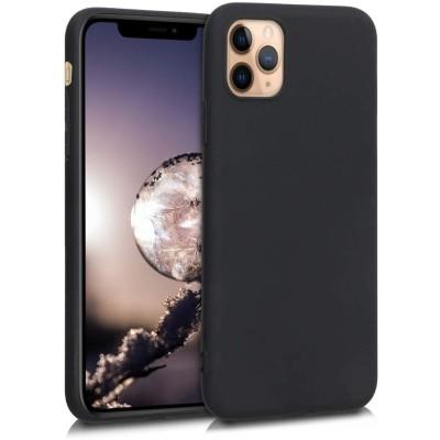KW Θήκη Σιλικόνης iPhone 11 Pro - Black Matte (200-104-399)
