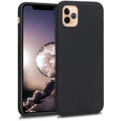 KW Θήκη Σιλικόνης iPhone 11 Pro Max - Black Matte (200-104-384)