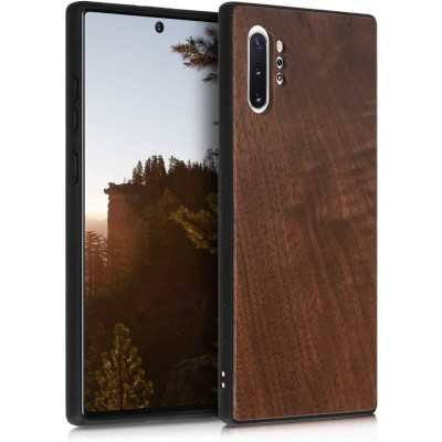 KW Ξύλινη Θήκη Samsung Galaxy Note 10 Plus - Dark Brown (200-104-379)