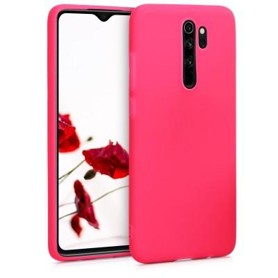 Θήκη Σιλικόνης για Xiaomi Redmi Note 8 Pro - Neon Pink by KW (200-104-560)