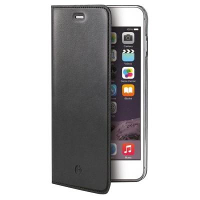 Celly Wally Θήκη - Πορτοφόλι iPhone 6/6S Plus - Black (AIRIP6SPBK)