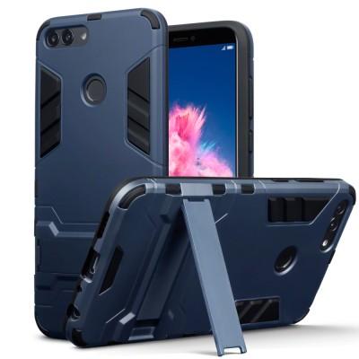 Terrapin Ανθεκτική Θήκη με Stand Huawei P Smart - Dark Blue (131-083-058)