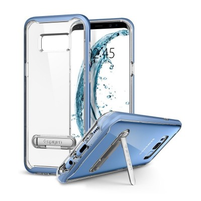 Spigen Galaxy S8+ Crystal Hybrid Blue Coral (571CS21128)