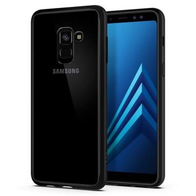 Spigen Galaxy A8 2018 Ultra Hybrid Matte Black (590CS22751)