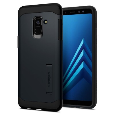 Spigen Galaxy A8 2018 Slim Armor Metal Slate (590CS22752)