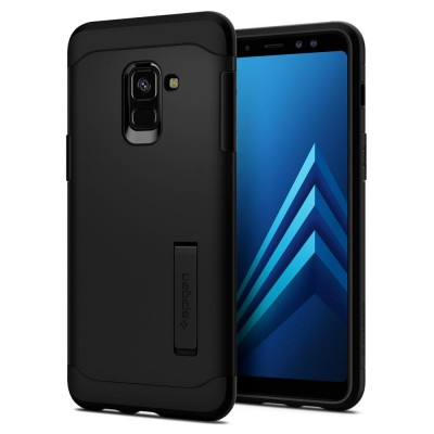 Spigen Galaxy A8 2018 Slim Armor Black (590CS22753)