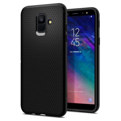 Spigen Samsung Galaxy A6 2018 Liquid Air Black (596CS24093)
