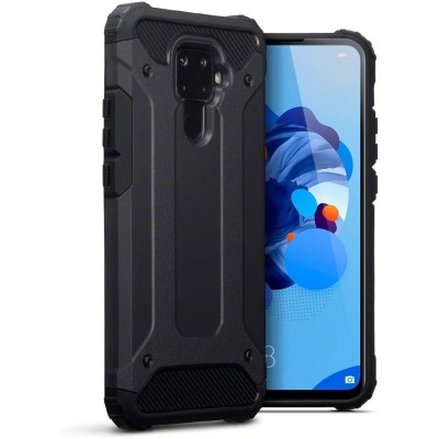 Terrapin Ανθεκτική Θήκη Double Layer Impact Huawei Mate 30 Lite - Black (131-083-116)