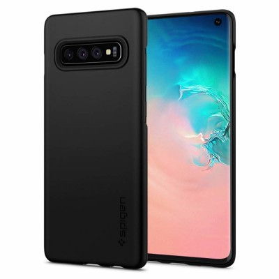 Spigen Galaxy S10+ Thin Fit Black (606CS25756)