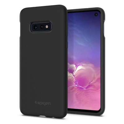 Spigen Galaxy S10e Silicone Fit Black (609CS25854)