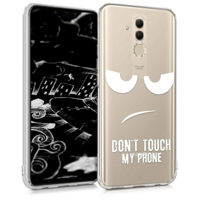 Θήκη σιλικόνης Don't Touch My Phone για Huawei Mate 20 Lite by KW ( 200-103-194)