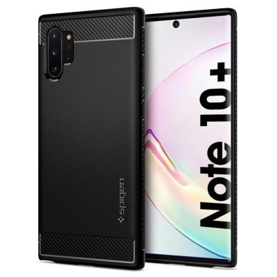 Spigen Galaxy Note 10+ Rugged Armor Black (627CS27331)