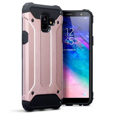 Terrapin Ανθεκτική Θήκη Impact Shock Samsung Galaxy A6 2018 - Rose Gold (131-002-102)