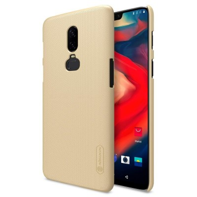 Nillkin Super Frosted Back Cover Gold για το OnePlus 6 (200-103-740)