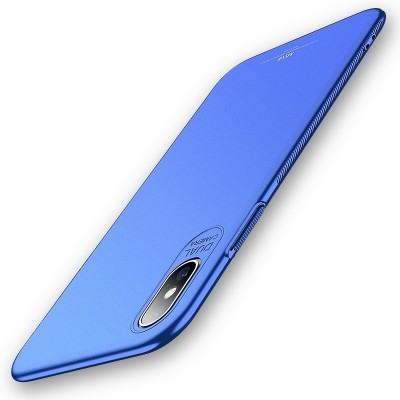 MSVII Super Slim Σκληρή Θήκη iPhone Xs Max Blue (200-103-171)